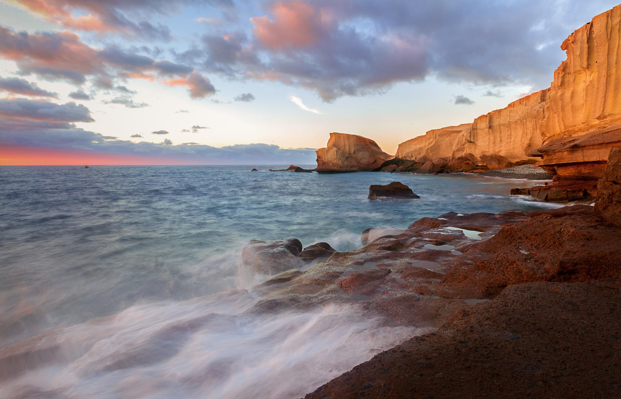 San Miguel beach. Photo by Florentina Cristina Catrinaru