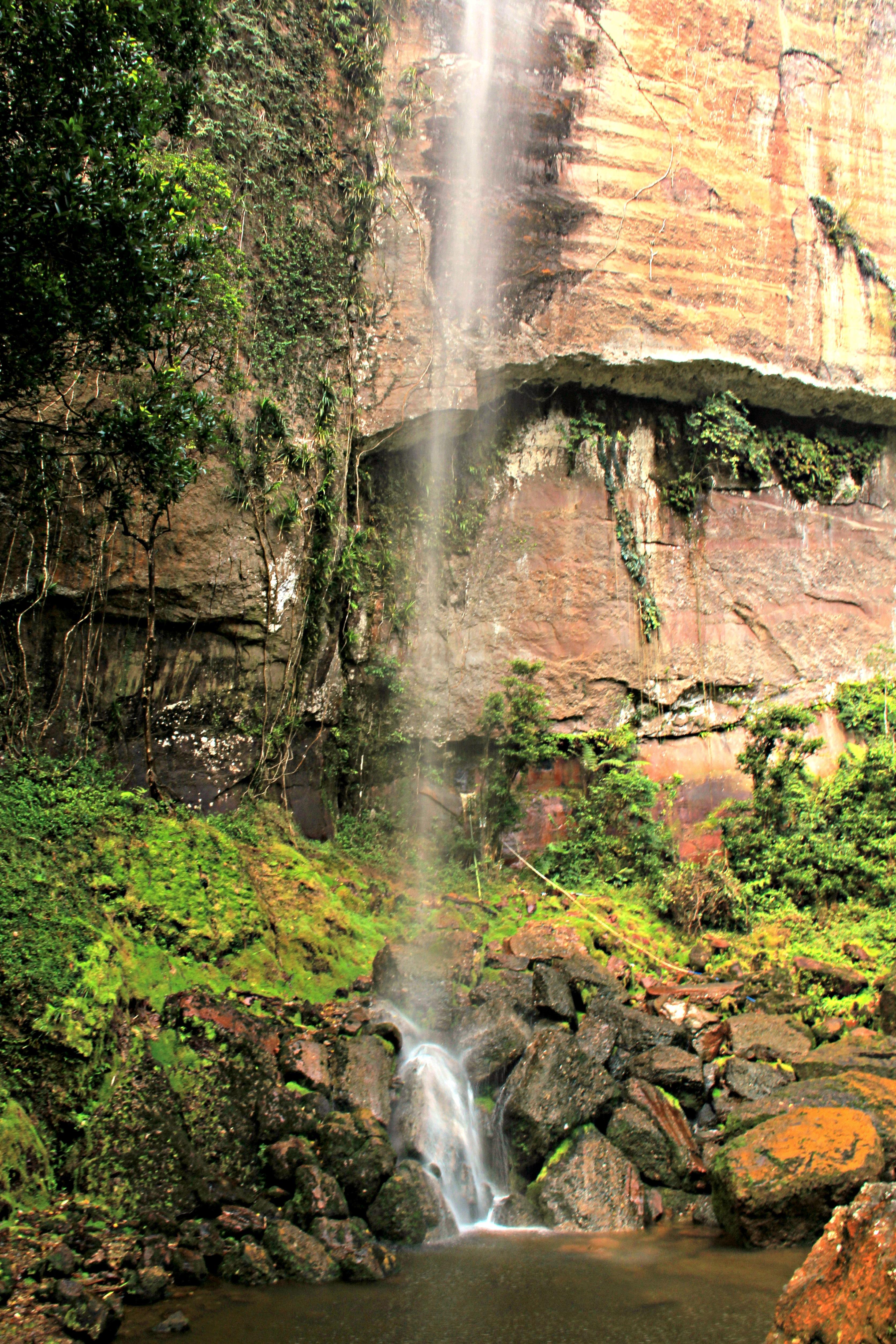 Waterfall nearby Sianok Canyon. Photo by Ovidiu Balaj