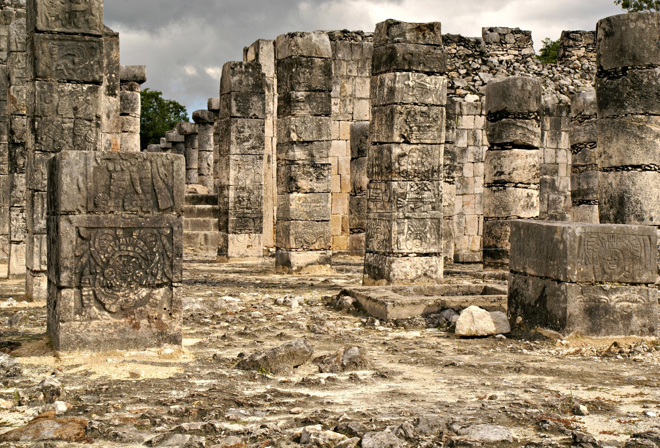 Ruins of of the Chichen Itza. Photo by Ovidiu Balaj