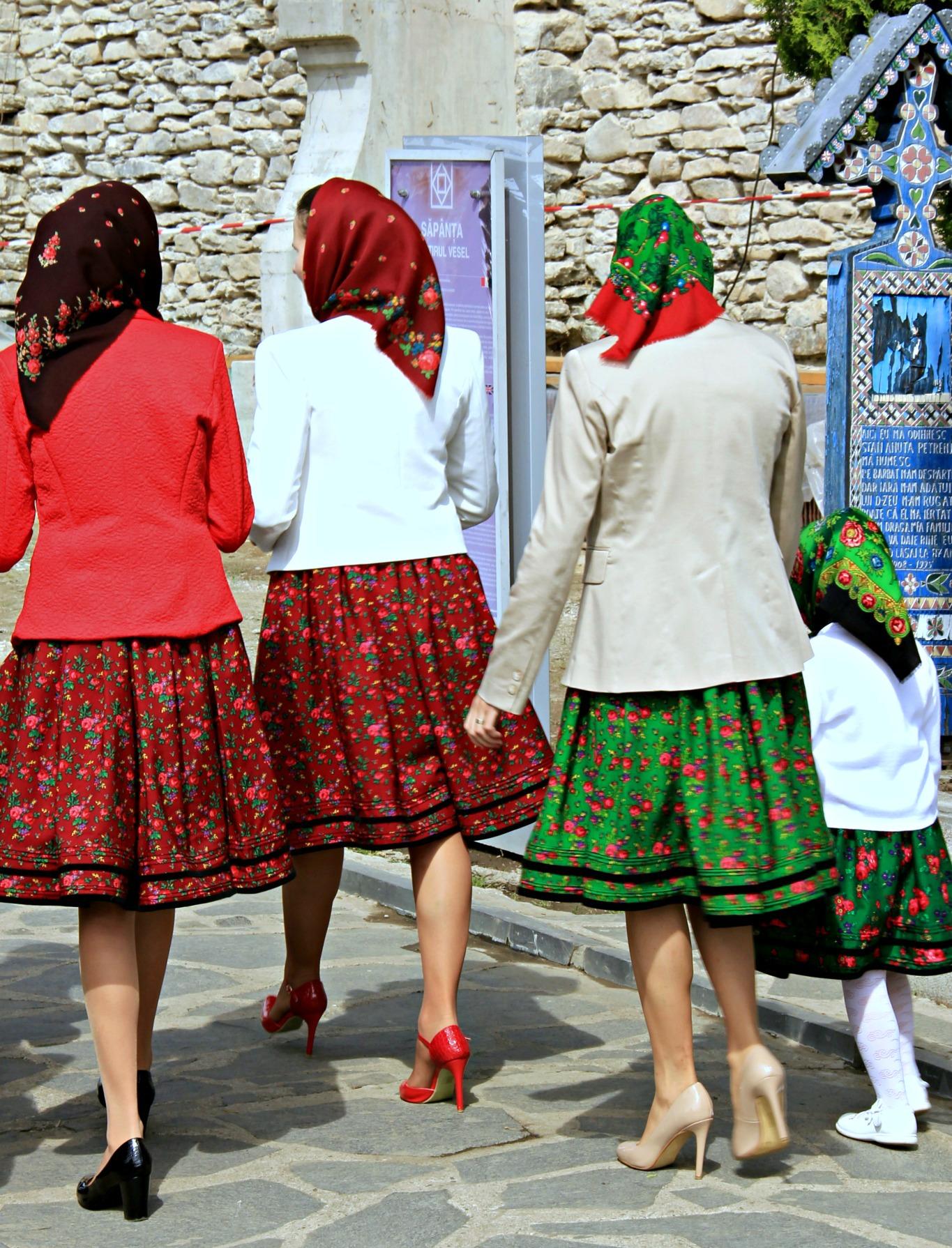 Even the small kids dress traditionally. Photo by Ovidiu Balaj