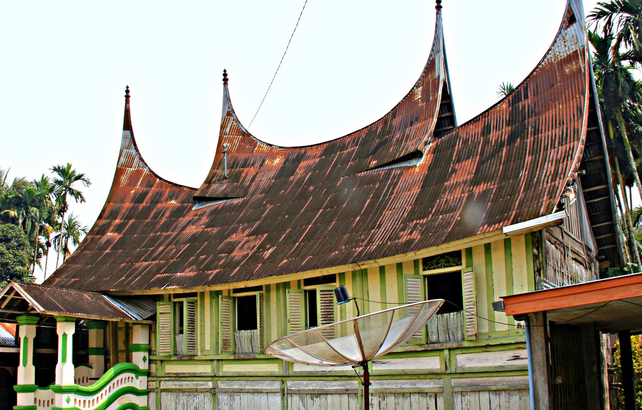 Traditional house in Minangkabau. Photo by Ovidiu Balaj