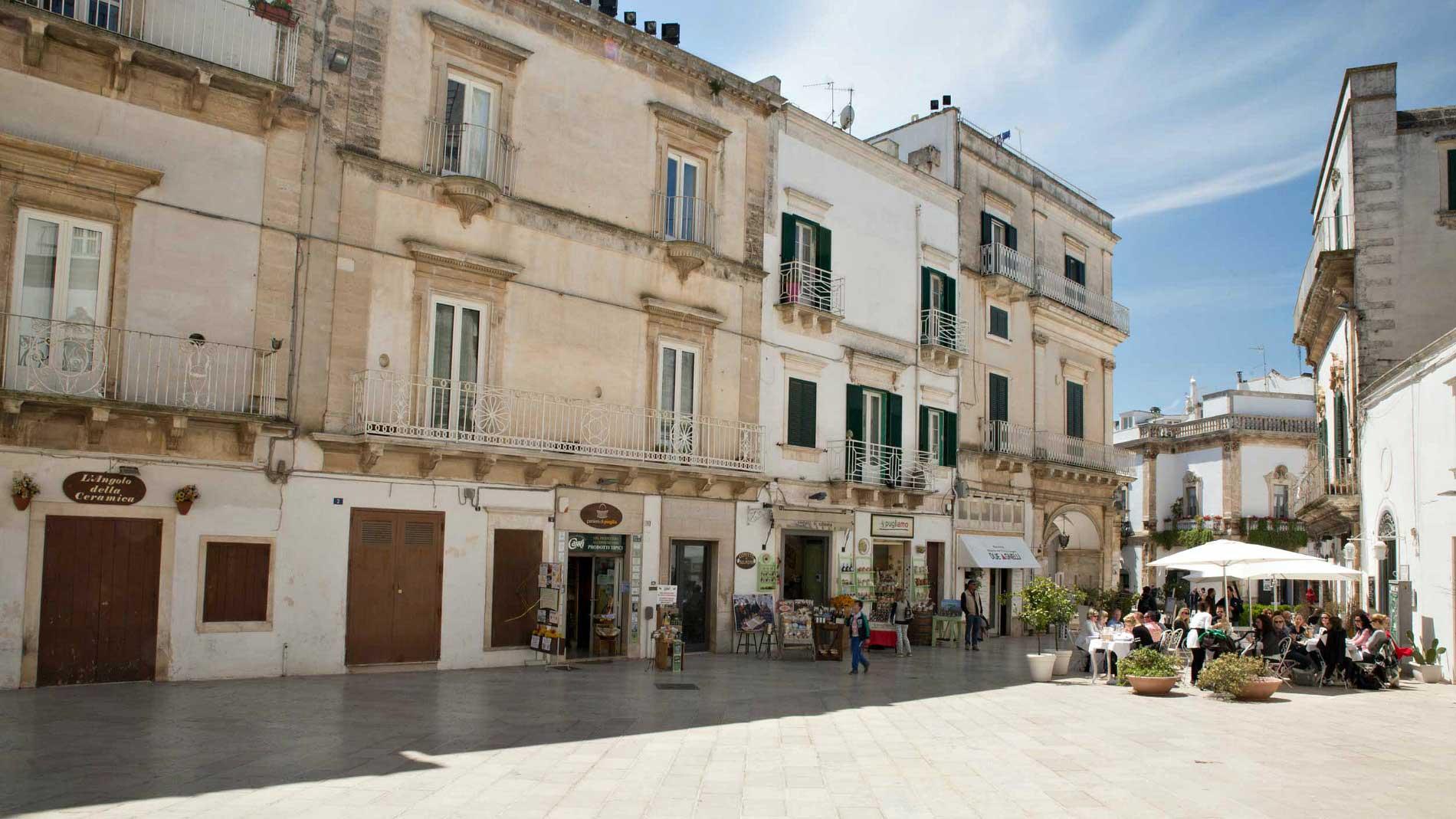 The charming Martina Franca, not far from Bari. Photo by Francois