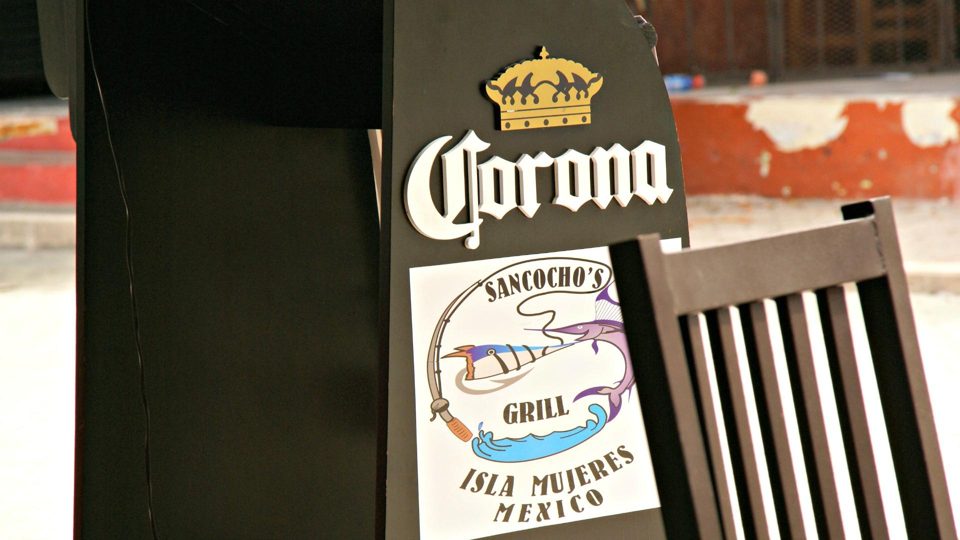 If is Mexico, there's Corona everywhere. Photo by Ovidiu Balaj